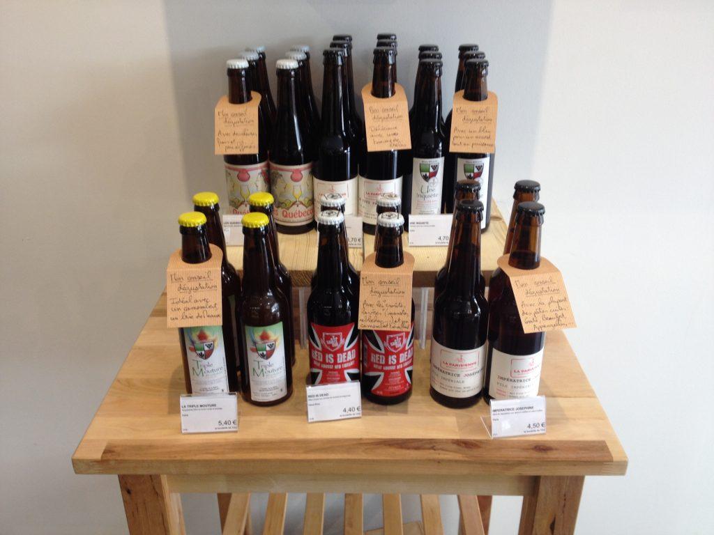Des bières artisanales