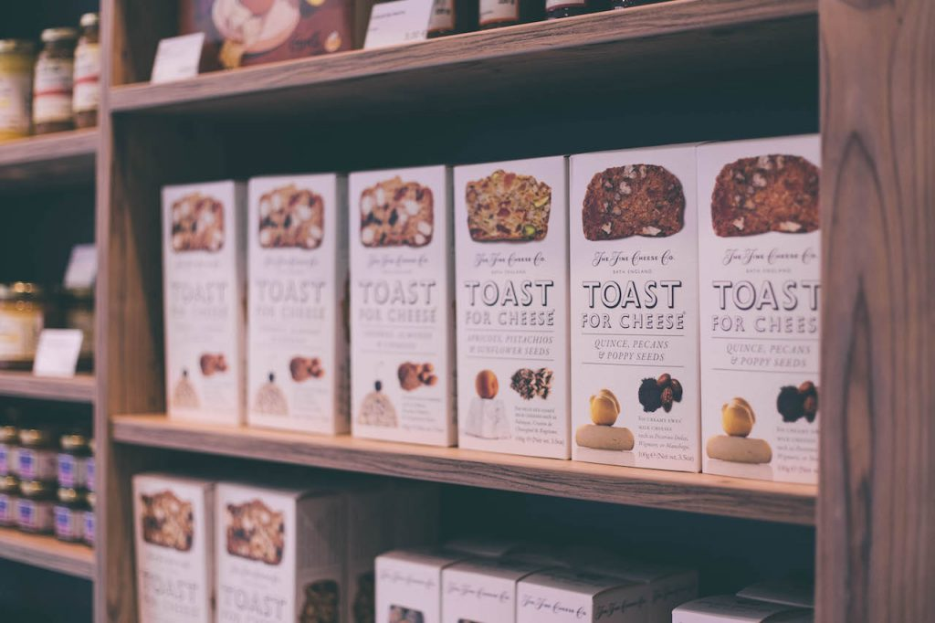 Toasts pour le fromage