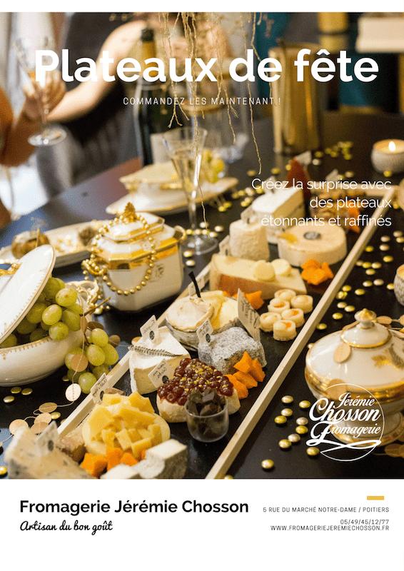 Dépliant plateau de fromages page 1